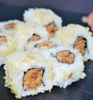 Crunchy sake no sote Fine Sushi Bar dostava