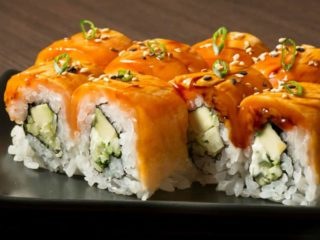 Salmon flame Fine Sushi Bar delivery