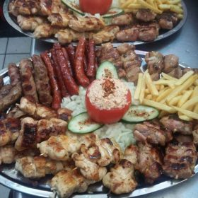 Mixed meat