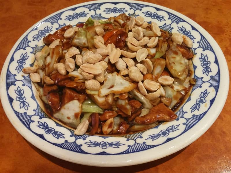 9. Chicken with peanuts delivery