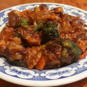 22. Piletina sa karfiolom, brokolijem i šargarepom u sosu od ostriga