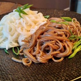 Buckwheat (soba) noodles delivery