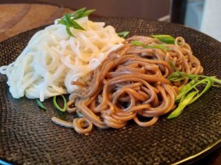 Buckwheat (soba) noodles Fine Sushi Bar delivery