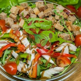 Extra rocket salad