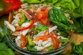 Spinach salad Garden food & bar delivery