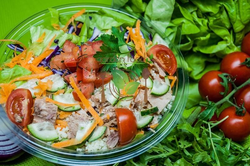 Mediteran kus kus salata dostava
