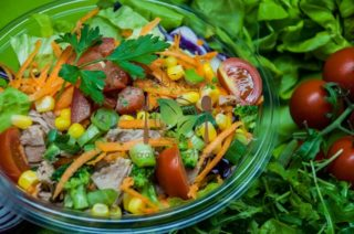 Tuna salad Garden food & bar delivery
