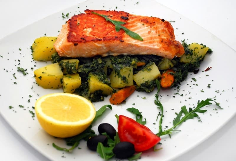 Salmon fillet delivery