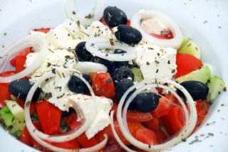 Greek salad delivery