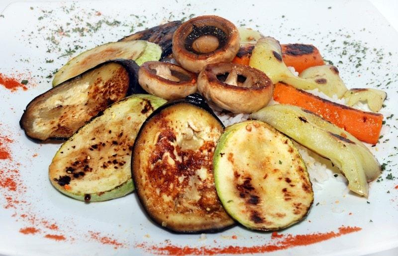 Grilled vegetables delivery