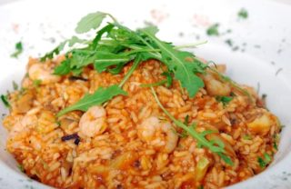Risotto with prawns delivery