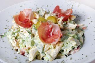 Mediterranean salad delivery