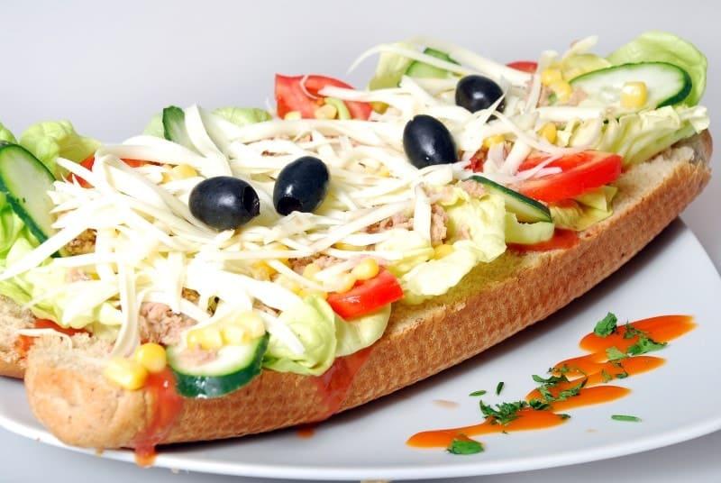 Tuna sandwich delivery