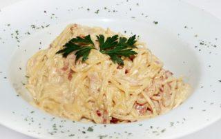 Spaghetti Carbonara delivery