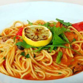Špagete morski plodovi