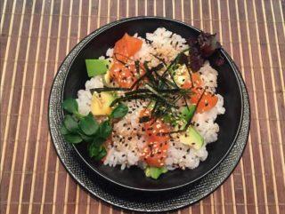 Chirashi Zushi salmon delivery