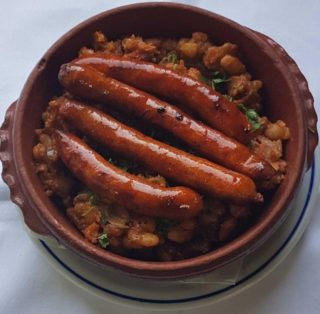 Baked beans with sausage delivery