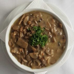 Mushrooms sauce