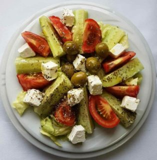 Greek salad Don Gedža delivery