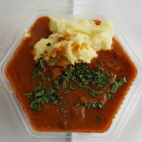 Veal goulash