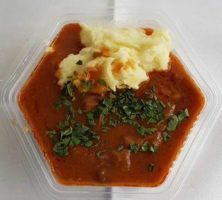 Veal goulash delivery