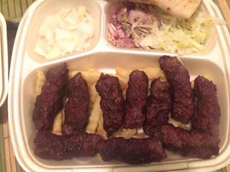 Sarajevski ćevapi obrok dostava