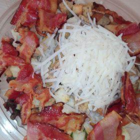 Caesar salad meal