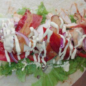 Caesar tortilla