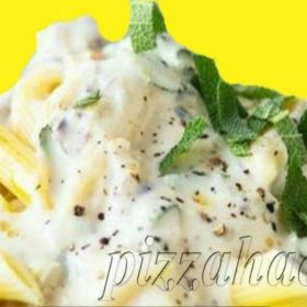Pasta with four kinds of cheese