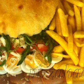Special sandwich proschiutto