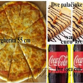 Super Meal Pizza for four people