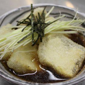 Agedashi tofu delivery