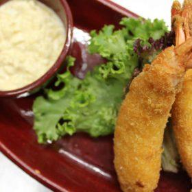 Ebi-fry shrimp starter delivery