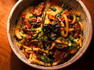 Beef yaki udon delivery