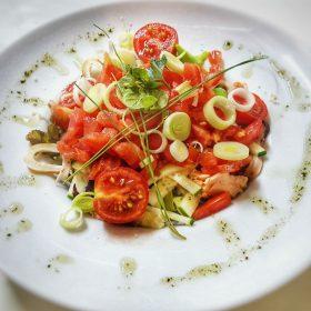 Calamari salad delivery