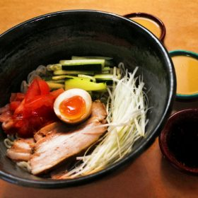Marukoshi salad ramen delivery
