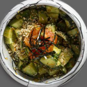 Cucumber sesame salad delivery