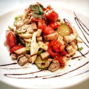 Susam pileća salata