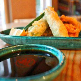 Vegetable tempura delivery