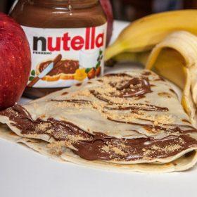 Crepe Nutella banana delivery