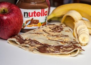 Crepe Nutella banana delivery