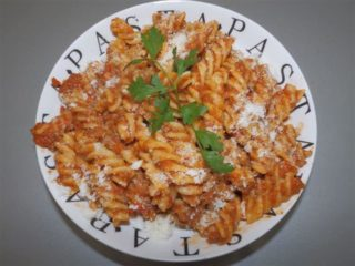Pasta Bolognese delivery