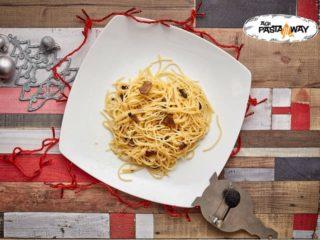 Olio e tartufo Agi Pasta Maksima Gorkog delivery