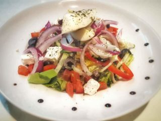Greek salad Garden food & bar delivery