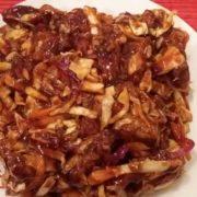 Hrskava piletina sa povrćem u sosu po želji