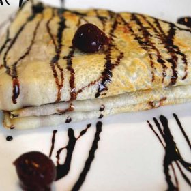 Crepe with eurocream delivery