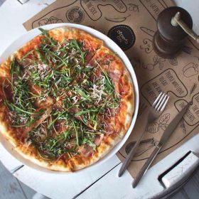 Pizza Prosciutto delivery