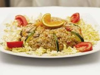 Risotto with vegetables Kaktus delivery