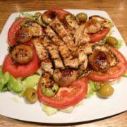 Toplo-hladna salata od piletine