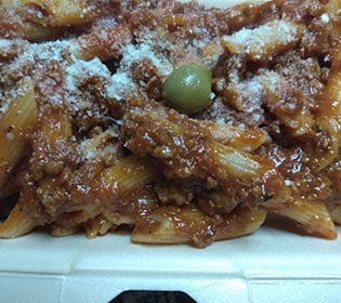 Pasta Bolognese Bambola pizzeria delivery
